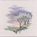 Derwentwater Designs Frosty Trees Cross Stitch Kit