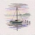 Derwentwater Designs Sailing Boat Cross Stitch Kit