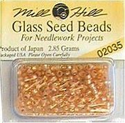 Mill Hill Seed Beads 02035 Shimmering Apricot