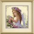 Dimensions Passion Flower Angel Cross Stitch Kit