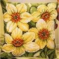 Vervaco Daffodils Floral Cross Stitch Kit