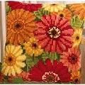 Vervaco Gerbera Floral Cross Stitch Kit