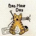 Mouseloft Bad Hair Day Cross Stitch Kit