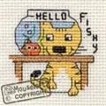 Mouseloft Hello Fishy Cross Stitch Kit