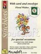 Mouseloft Floral Wishes Cross Stitch Kit