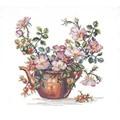 Eva Rosenstand Kettle and Flowers Cross Stitch Kit