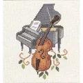 Eva Rosenstand Cello and Piano Cross Stitch Kit