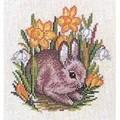 Eva Rosenstand Rabbit and Daffodils Cross Stitch Kit