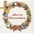 Eva Rosenstand Christmas Decoration Wreath Cross Stitch Kit
