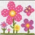 Anchor Sarah Floral Cross Stitch Kit