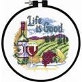 Dimensions Life is Good Cross Stitch Kit