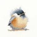 Heritage Chickadee - Aida Cross Stitch Kit