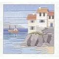 Derwentwater Designs Headland Cottages Long Stitch Kit