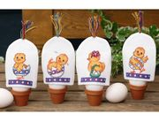Permin Easter Chick Egg Cosies Cross Stitch Kit