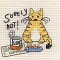 Mouseloft Surely Not Cross Stitch Kit
