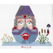 Abacus Designs Milly Cross Stitch Kit