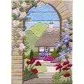 Derwentwater Designs Summer Garden Long Stitch Kit