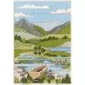 Derwentwater Designs Mountain Spring Long Stitch Kit