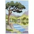 Derwentwater Designs Mountain Summer Long Stitch Kit