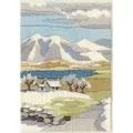 Derwentwater Designs Mountain Winter Long Stitch Kit