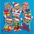 Design Works Crafts Little Christmas Bears Cross Stitch Kit