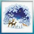 RIOLIS Woodland Christmas Cross Stitch Kit
