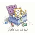Heritage Little Sew and Sew - Aida Cross Stitch Kit