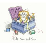 Heritage Little Sew and Sew - Evenweave Cross Stitch Kit