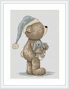 Luca-S Time for Bed Cross Stitch Kit
