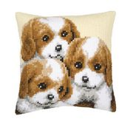 Vervaco Three Puppies Cross Stitch Kit