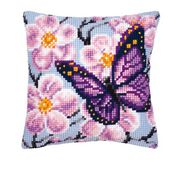 Vervaco Butterfly and Orchid Cross Stitch Kit