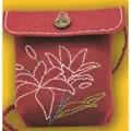Kleiber Burgundy Rose Bag Small Craft Kit