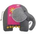 Kleiber Elephant Felt Kit Craft Kit