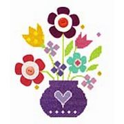 Stitching Shed Bouquet Floral Cross Stitch Kit