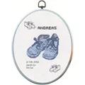 Permin Andreas Sampler Birth Sampler Cross Stitch Kit