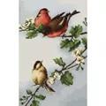Luca-S Birds on Branch Cross Stitch Kit