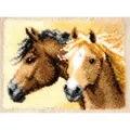 Vervaco Horses Rug Latch Hook Kit