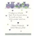 Heritage Baby Boy - Aida Birth Sampler Cross Stitch Kit
