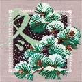 RIOLIS Oriental Winter Christmas Cross Stitch Kit