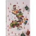 Permin Christmas Train Advent Cross Stitch Kit