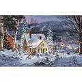 Dimensions Winter's Hush Christmas Cross Stitch Kit