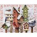 Dimensions Winter Housing Christmas Cross Stitch Kit