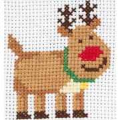 Anchor Rudolph Christmas Cross Stitch Kit