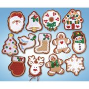 Design Works Crafts Christmas Cookie Ornaments Craft Kit