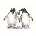 Heritage Christmas Penguins - Evenweave Cross Stitch Kit