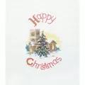 Derwentwater Designs Midnight Mass Christmas Card Making Cross Stitch Kit