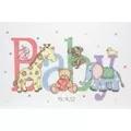Anchor Baby Animals Birth Sampler Cross Stitch Kit