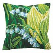 Collection D'Art Lily of the Valley Floral Cross Stitch Kit