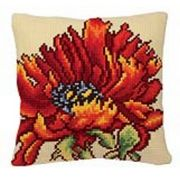 Collection D'Art Delicious Poppy Cross Stitch Kit