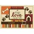 Dimensions A Dog's Love Cross Stitch Kit